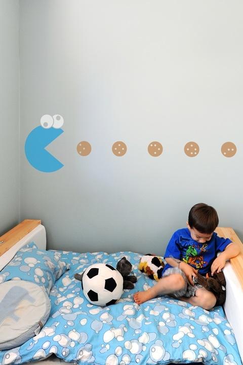 Cookie monster room decor