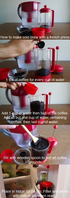 how to make cold brew coffee with a french press
