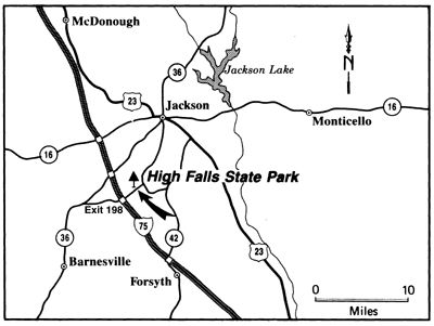 High Falls State Park   Georgia State Parks Close by, Yurts :), fishing, miniature golf, trails, boat rentals.
