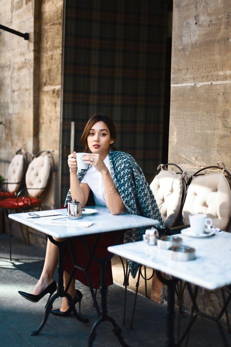 Kim Jones drinking coffee at le Schmuck by Faye Bullock-14ee