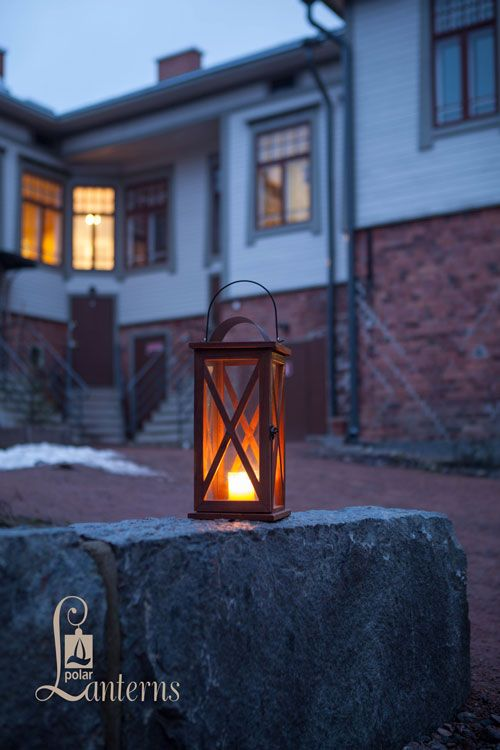 116655 Tallilyhty, 37cm / Lantern