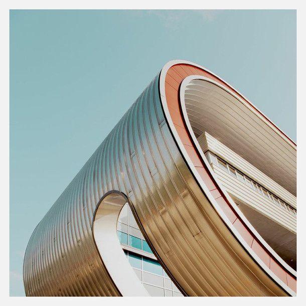 Berlin 9 Bent Building by  Matthias Heiderich