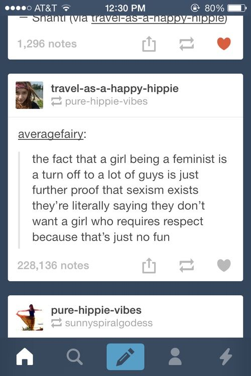 Guys don't want girls who want to be respected. Luckily us girls, don't want guys who disrespect us.