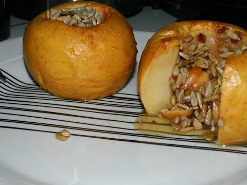 Cum am inceput sa slabesc, reteta de mere la cuptor cu seminte