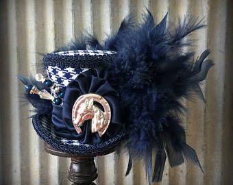 Kentucky Derby Hat Derby Fascinator Micro Mini Top Hat