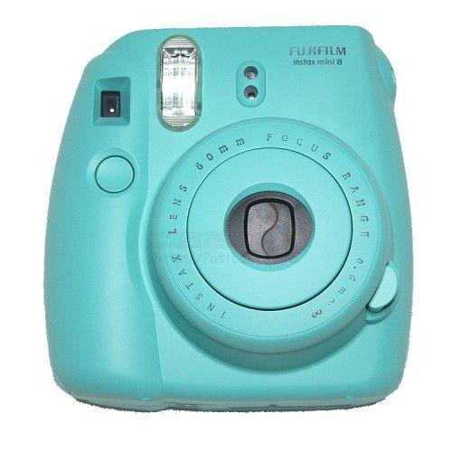 instax polaroid instax mini 8 polaroid camera turquoise. Black Bedroom Furniture Sets. Home Design Ideas