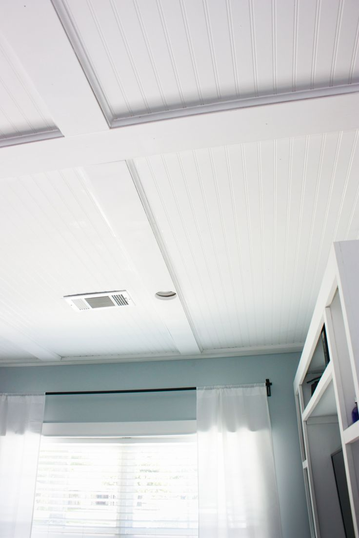 Best 25 ceiling trim ideas on pinterest simple ceiling for Foam coffered ceiling