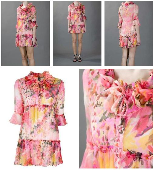 ❦ Tricot Chic floral print dress | Wantering