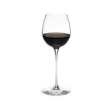 A mature Burgundy or Barolo at its best has the muscle and strength for a large surface offered by the Burgundy glasses in this range.  #holmegaard #fontaine #burgundy