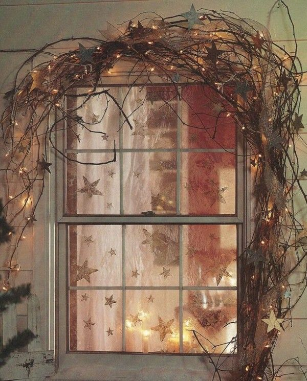 Most fantastic 2015 Christmas window decoration that you should learn and follow - Fashion Blog