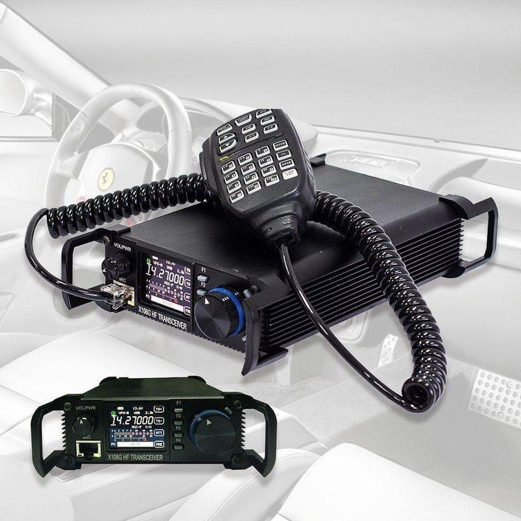 Xiegu X 108G QRP Transceiver Outdoor Version 9 Bands AM SSB CW 1 20 watts Black   | eBay