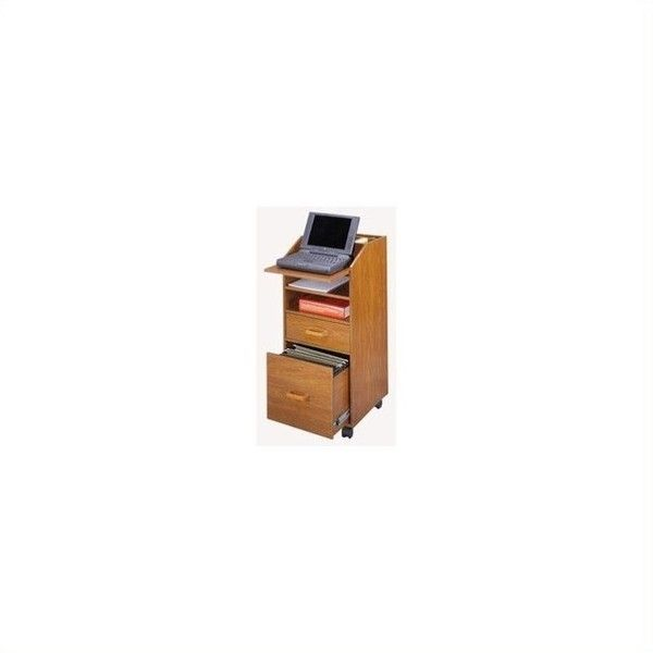 venture horizon 2 drawer wood laptop cart filing cabinet 136 liked on polyvore