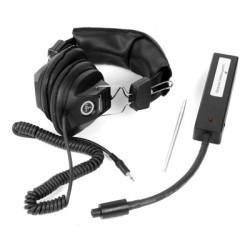 Electronic Stethoscope, with Padded Headphones, Adjustable Volume Level, Includes Nine Volt Battery
