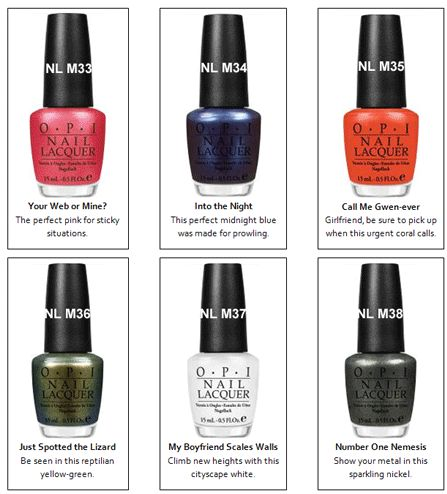 Spiderman Collection by OPI