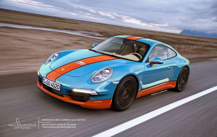Porsche 911 (991)Carrera Gulf Edition