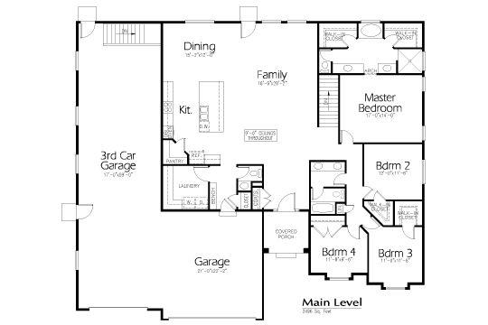 32 best house plans images on pinterest dream houses for Kentucky dream homes floor plans