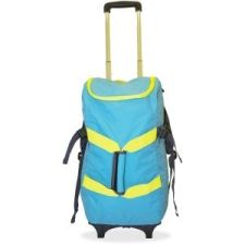 """Dbest Smart Travel/Luggage Case (Rolling Backpack) for 17"""" Notebook, Travel Essential - Blue, Yellow 