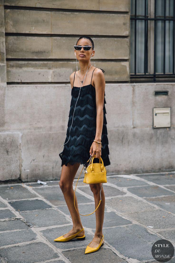 Haute Couture Fall 2019 Street Style: Annibelis Baez