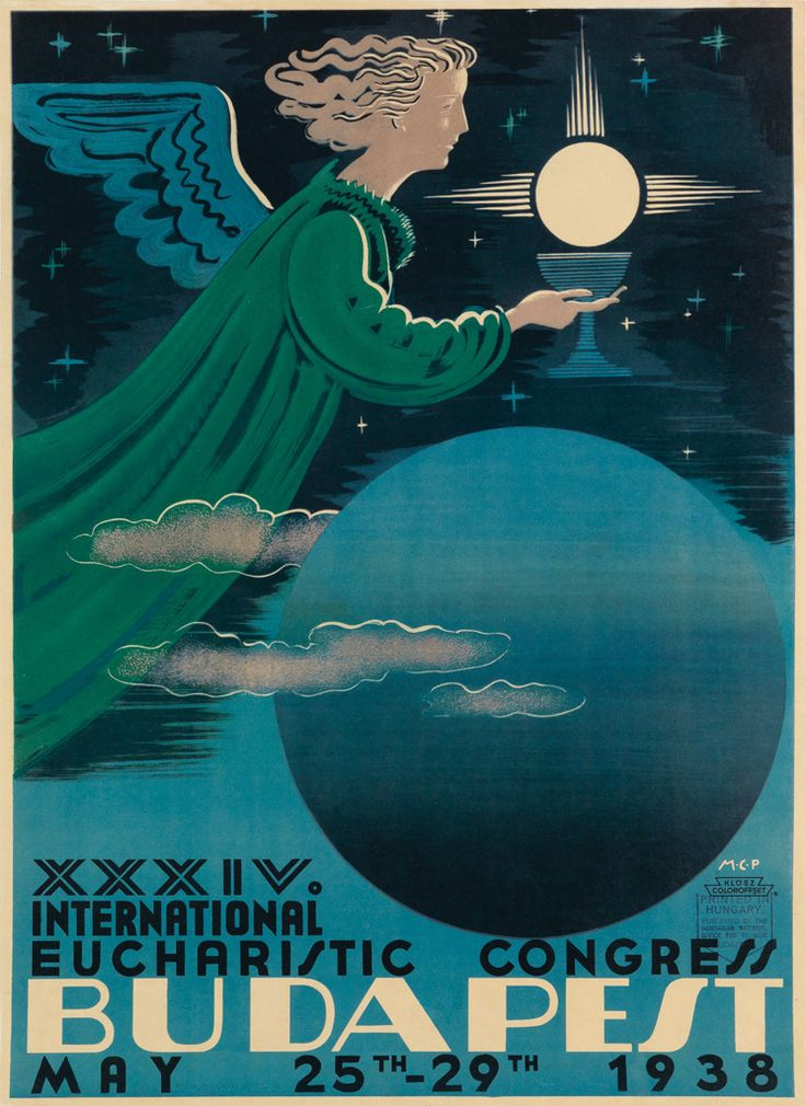 Budapest - XXXIV International Eucharistic Congress - 1938 -
