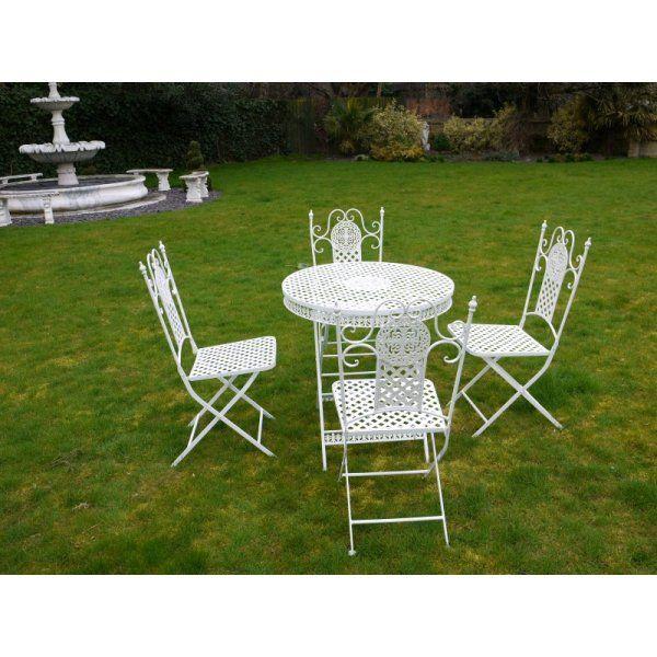 buy white 4 seater dining set white patio set swanky interiors