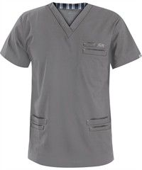 IguanaMed Scrubs Men's MedFlex II 6-Pocket Top