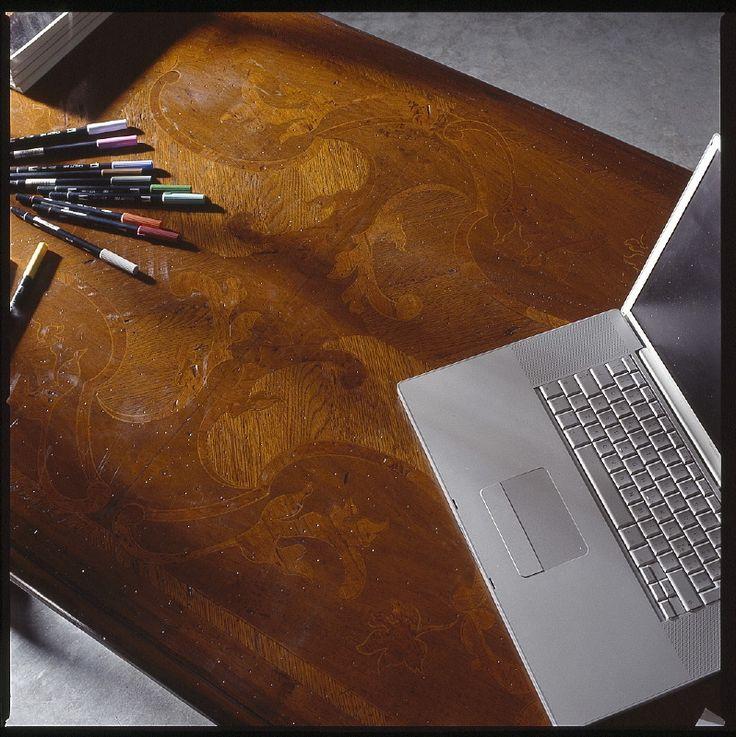 TOP FG576 extendable table PIERRE CHIARO finish 100% hand made in Italy www.marchettimaison.com