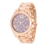Show details for Roman Numeral Rose Gold Watch