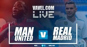 Real Madrid vs Manchester United live stream TV, match prediction, live football scores in the UEFA