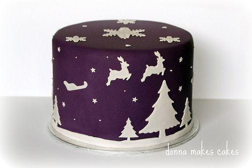 Ideas for Christmas Cake design