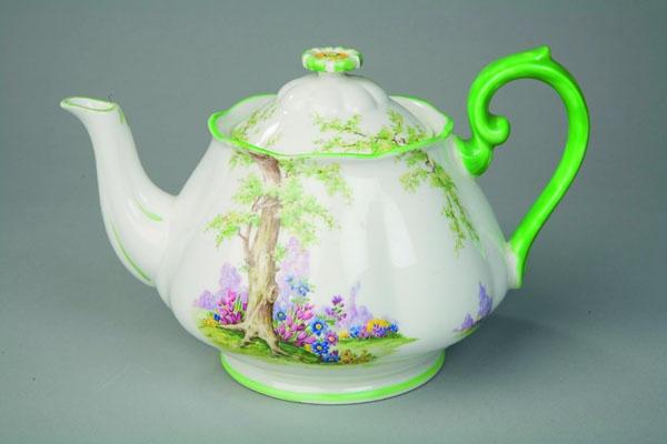 #tea pot  Greenwood Tree by Royal Albert