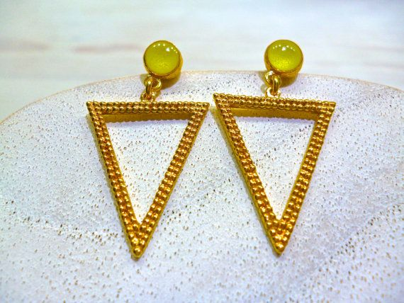Hey, I found this really awesome Etsy listing at https://www.etsy.com/listing/269500702/geometric-earrings-triangle-earrings