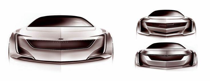 fleedesign | Cadillac Internship Work Samples