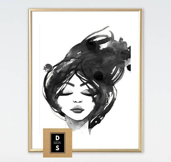 gift for her digital printable fashion home decor gift