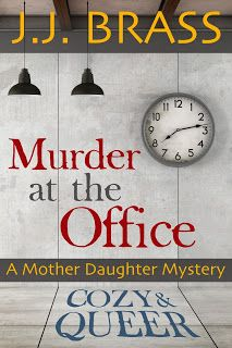 #queerlit #lesfic #cozy #mystery Cats Read Mysteries: KitKat Reads Murder at the Office: A Mother Daughter Mystery