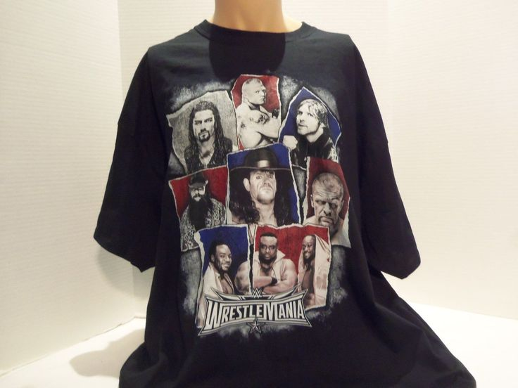 WWE WRESTLEMANIA 2016 T-SHIRT (3XL) BLACK- UNDERTAKER-TRIPLE H-BROCK LESNAR-RARE - https://bestsellerlist.co.uk/wwe-wrestlemania-2016-t-shirt-3xl-black-undertaker-triple-h-brock-lesnar-rare/