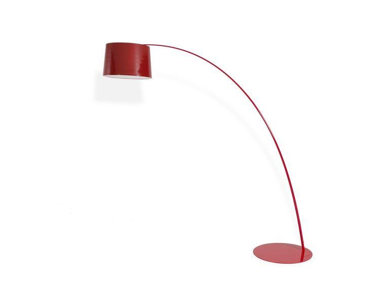 VIG Modrest Modern Red Floor Lamp VGDP7023-RED