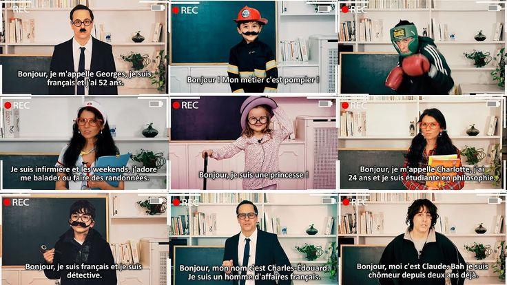 Presentarse en Francés: hoy, vamos a ver este tema con un vídeo muy dive...
