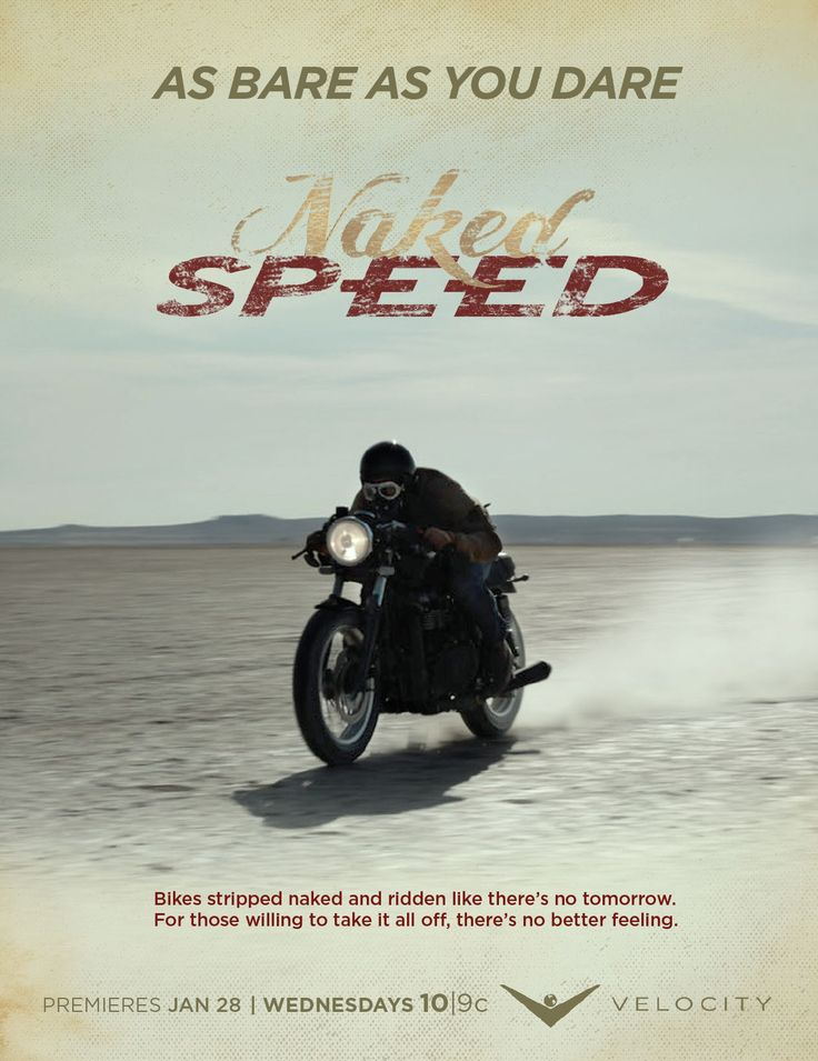 Naked Speed coming to the V January 28, 2015