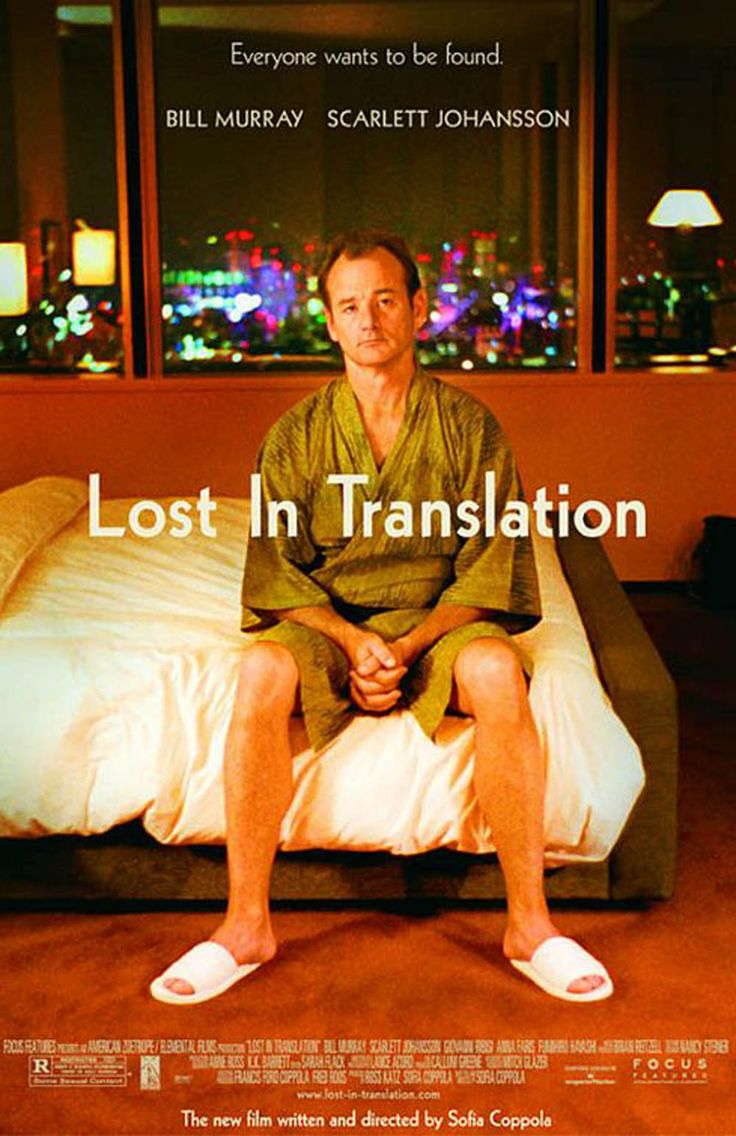 One of my Favorite Movies, LOST IN TRANSLATIONMovie Posters, Translation 2003, Classic Movie, Scarlett Johansson, Bill Murray, Sofia Coppola, Movie Stars, Favorite Movie, Lost In Translation