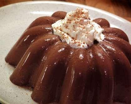 Εύκολο σοκολατένιο ζελέ με 2 κινήσεις