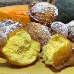 Frittelle dolci di zucca con cannella