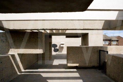 Apollo Pavilion Peterlee by Victor Pasmore