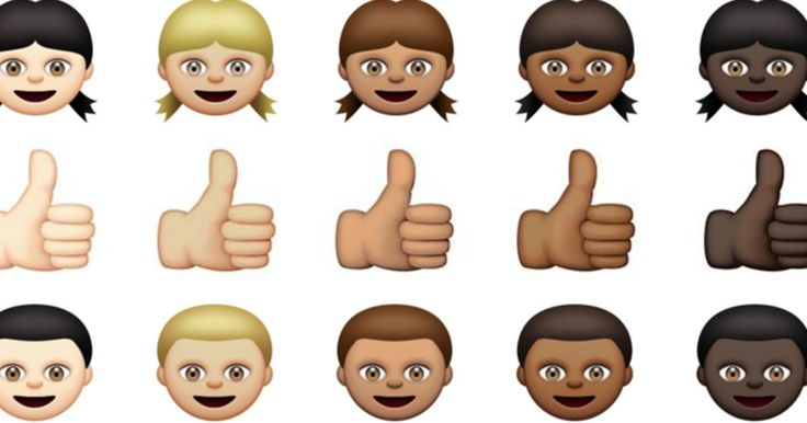 Diverse emojis excite ios users social media reaction new