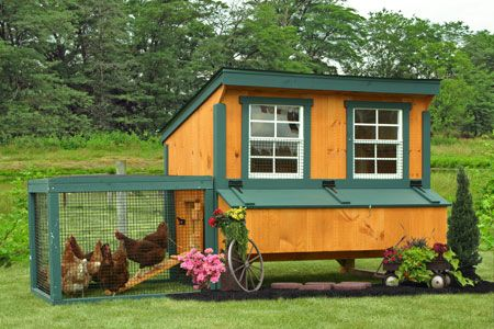 Sheds Unlimited Inc: Portable Chicken Coops and Runs For Sale From Sheds Unlimited