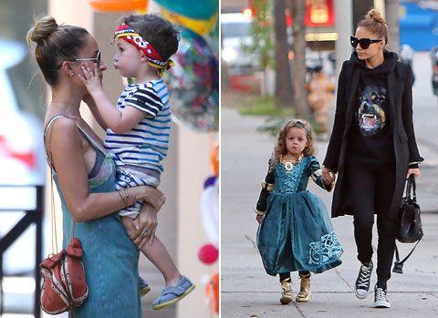 Nicole Richie's kids, Sparrow and Harlow