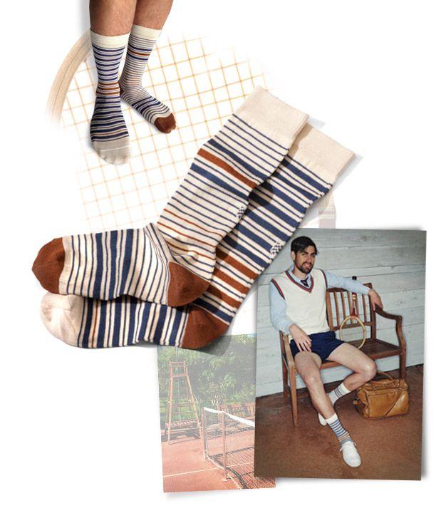 Mini Boston socks | Light drawer | Oybō: untuned socks for smart feet