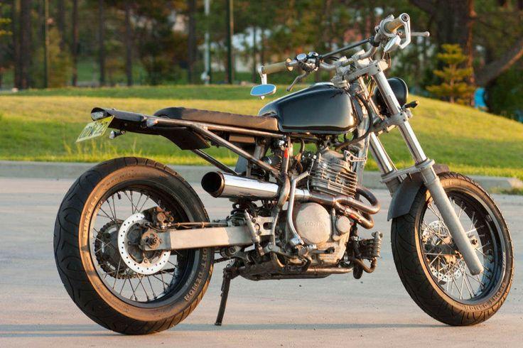 honda xr650 - crossed purpose - ottonero | two wheels | pinterest