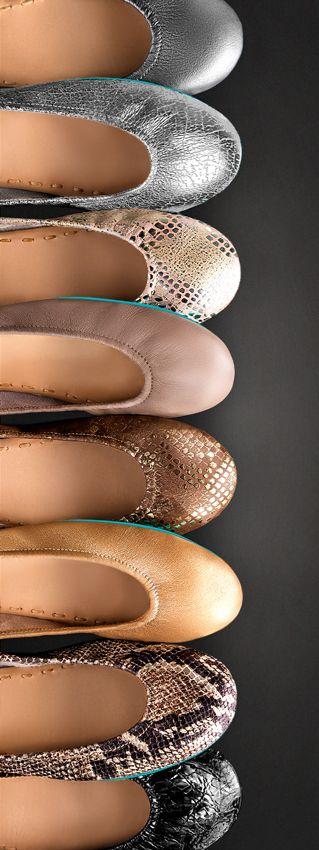Striking neutrals for any season! | Tieks Ballet Flats