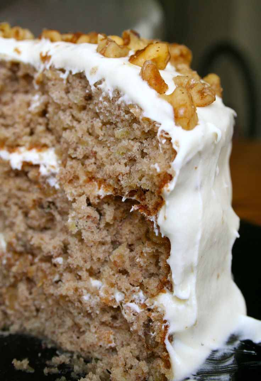 Hummingbird Cake - my grandma used to make this for every family reunion! I need to make it soon!