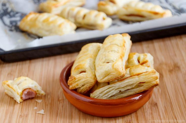 Frankfurters In Puff Pastry Recipe Pastries The Two
